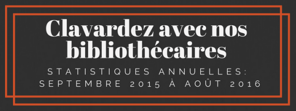 2015-2016 Statistics Report in French