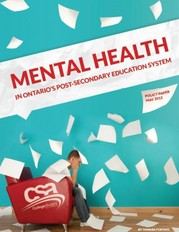 Mental health in Ontario's post-secondary education system