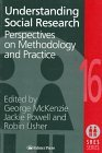 Cover image - Understanding social research: perspectives on methodology and practice