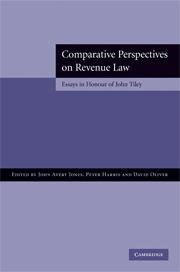 Cover image - Comparative Perspectives on Revenue Law : Essays in Honour of John Tiley