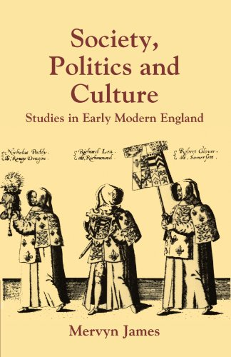 Cover image - Society, Politics and Culture : Studies in Early Modern England