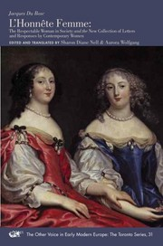 Cover image - L'honnete femme =: The respectable woman in society : and the New collection of letters and responses by contemporary women