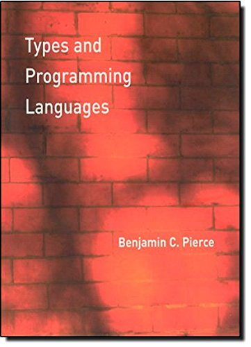 Cover image - Types and programming languages