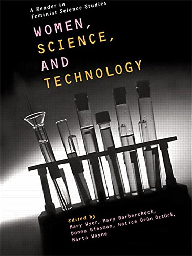 Women, science, and technology. Cover features an image of test tubes.