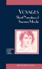 Cover image - Voyages : short narratives of Susanna Moodie