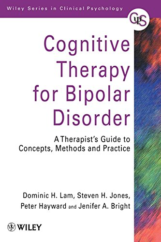 Cover image - Cognitive therapy for bipolar disorder: a therapist's guide to concepts, methods, and practice