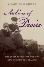 Archives of Desire. Cover features archival photograph of two women reading a book.