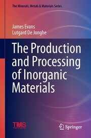 Cover image - The Production and Processing of Inorganic Materials