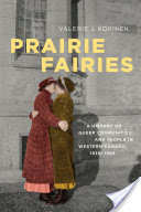 Prairie Fairies. Cover features illustration of two women in dresses and coats kissing.